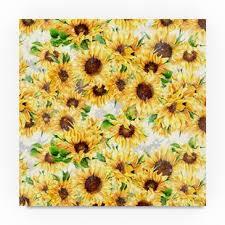 Sunflower Pattern Custom Sunflower Pattern Wayfair