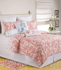 Total Fab: Coral Colored Comforter and Bedding Sets & Coral Colored Bedding: Coral Sea Theme Coral Quilt Twin Queen King Adamdwight.com