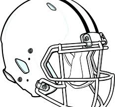 Nfl Football Helmet Coloring Pages At Getdrawingscom Free For