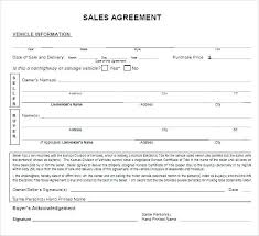 Personal Car Sale Agreement Vehicle Contract Template Sublease Contract Template 9 Word