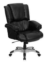 btod high back leather overstuffed office chair