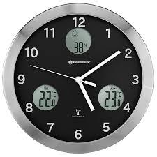 <b>Метеостанция</b> (<b>настенные часы</b>) <b>Bresser</b> MyTime io, 30 см ...