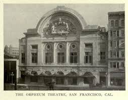 Orpheum Sf Seating Chart Orpheum Theatre San Francisco Ca St Augustine Courses