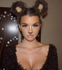 just throw on same ears and this way to be well add a bit more cl to your look with these adorable makeup styles