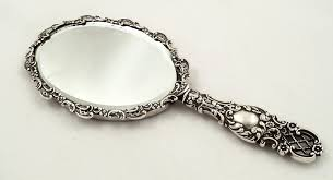 Victorian hand mirror Antique Sterling Silver Sold Sellingantiquescouk Antique Victorian Sterling Silver Hand Mirror 1897 276029