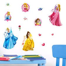 3d disney princess wall stickers kids children babies decoration uk genuine