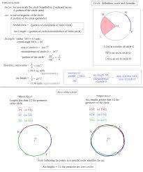 circle notes definitions and formulas circle notes definitions and formulas 2