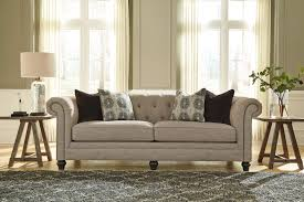 Sofa Exquisite Ashley Furniture Tufted Sofa Living Room Leather