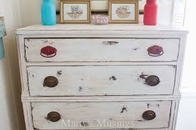 pictures of chalk painted furnitureChalk Painted Dresser