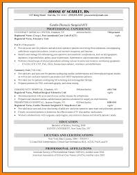8 Medical Surgical Nurse Resume Sample New Hope Stream Wood