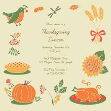 Free Online Thanksgiving Invitations Thanksgiving Invitation Templates Free Greetings Island