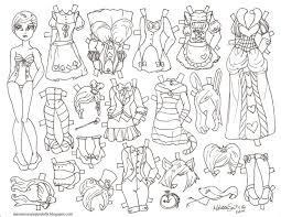 Small Picture Paper Doll Template Paper Doll Chain Template Paper Doll Sample