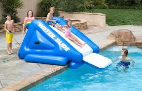 above ground pool slide. Pool Slides For Inground Pools Inflatable Water Above Ground Rock Slide L