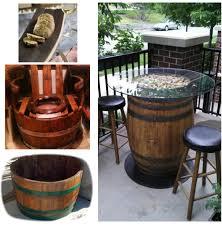reversible reclaimed wine barrel. Oak Barrel Furniture Reversible Reclaimed Wine C
