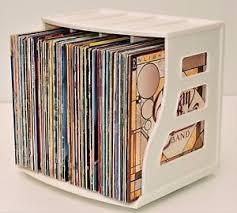 Photo Album Display Stand Vinyl Record Storage Crate 100 LP Album Holder Display Stand 51