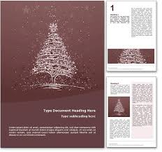 Word Templates Christmas Royalty Free Christmas Microsoft Word Template In Red
