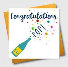 Congratulation Pom Pom Range Contemporary Congratulation Card