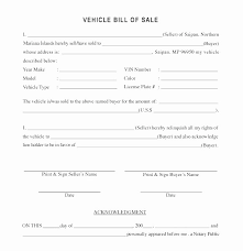 Sample Of Bill Of Sale For Car Sample Automobile Bill Of Sale Threeroses Us