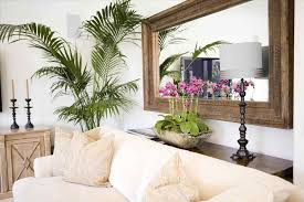 picture large mirror over sofa hanging sydney u mirror servicerhpicturehangingsydneycom a thin console between the sofa