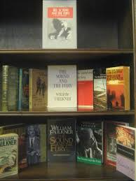 for love of books william faulkner news from the boston becks the sound and the fury covers