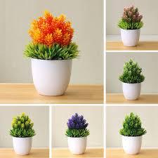<b>Artificial Potted Plant Fake</b> Bonsai Table <b>Simulation</b> Decor for Home ...