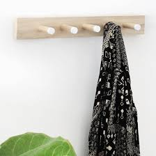Diy Wood Coat Rack Interesting 32 Clever DIY Coat Rack Ideas For Your Home Cool Crafts