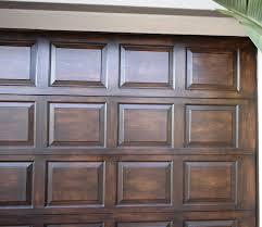 paint metal garage door like wood wageuzi
