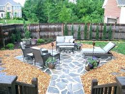backyard stone ideas ideas for backyard stone patio design small patios ideas for backyard outdoor stone