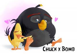 Angry Birds Chuck x Bomb by TWstacker -- Fur Affinity [dot] net