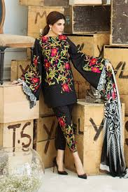 3Pc Lawn Collection 2017 By Sana   ..:: Holidayz Trend::..