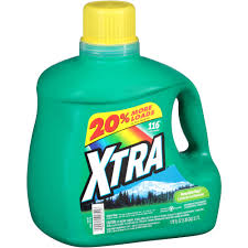 How Much He Detergent To Use Xtra 2x Concentrated Mountain Rain Liquid Laundry Detergent 175
