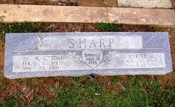 Myrtle Delores Majors Sharp (1915-1995) - Find A Grave Memorial