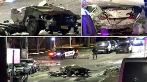 <b>5</b> dead, <b>vehicle</b> split in half in horrific Westchester County crash