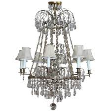 antique baltic style bronze and crystal chandelier bagues quality