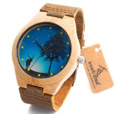 hot bobo bird brand design wood watch high quality wristwatches classic bamboo wooden watch ese miyota 2035 movement wristwatches genuine leather bamboo wood watches for men women gift box