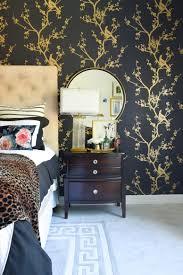 Wallpaper : Black White Gold Master Bedroom Reveal Wants It Dark ...
