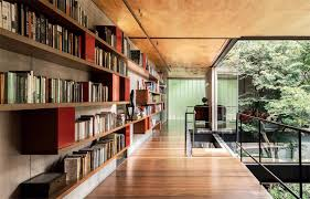 modern home library design. modern home library design