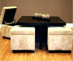 coffee table with seating underneath coffee table