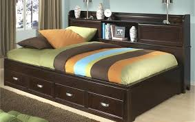 kids twin beds with storage. Kids Twin Headboard Bedroom Appealing White Bed With Pink Bedding Also Storage Shelves . Beds G