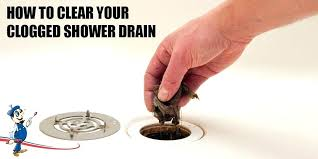 bathroom drain clogged. Simple Drain Unclogging Shower Drain Clogged Tub Standing  Water   And Bathroom Drain Clogged R