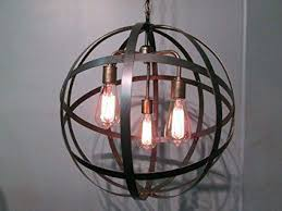 orb light chandelier alluring with crystals contemporary
