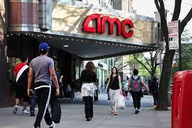 AMC shares turn positive, roaring back ...
