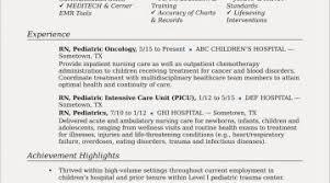 Objective Samples For Resume Registered Nurse Resume Objective