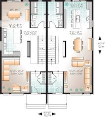 multi family house plans contemporary multi family home 22328dr architectural designs remarkable design
