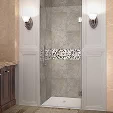 frameless single shower doors. Unique Frameless Cascadia 72 To Frameless Single Shower Doors Wayfair