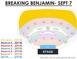 Bonner Springs Amphitheater Seating Chart 68 Qualified Starlight Amphitheater Seating Chart