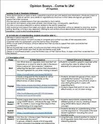 stem unit plan for writing opinion or persuasive essays th stem unit plan for writing opinion or persuasive essays or grade all graphic organizers teacher and student sample copies provided