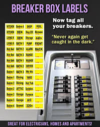 easy breaker box decals tough vinyl labels for circuit easy breaker box decals tough vinyl labels for circuit breakers great for home owners apartment complexes and electricians