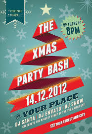 beautiful christmas posters and flyer design templates xmas party flyer template