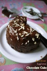 Best Ever Healthy Eggless Chocolate Cake Recipe Flavoured Goodness